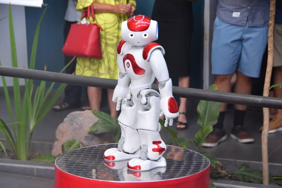 Nao, robot Androïd de SoftBank Robotics, guest star de ce Festival ©OPT