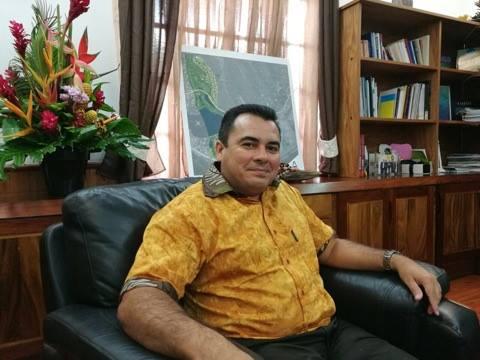 Teva Rohfritsch, Vice-président de la Polynésie française ©Outremers360