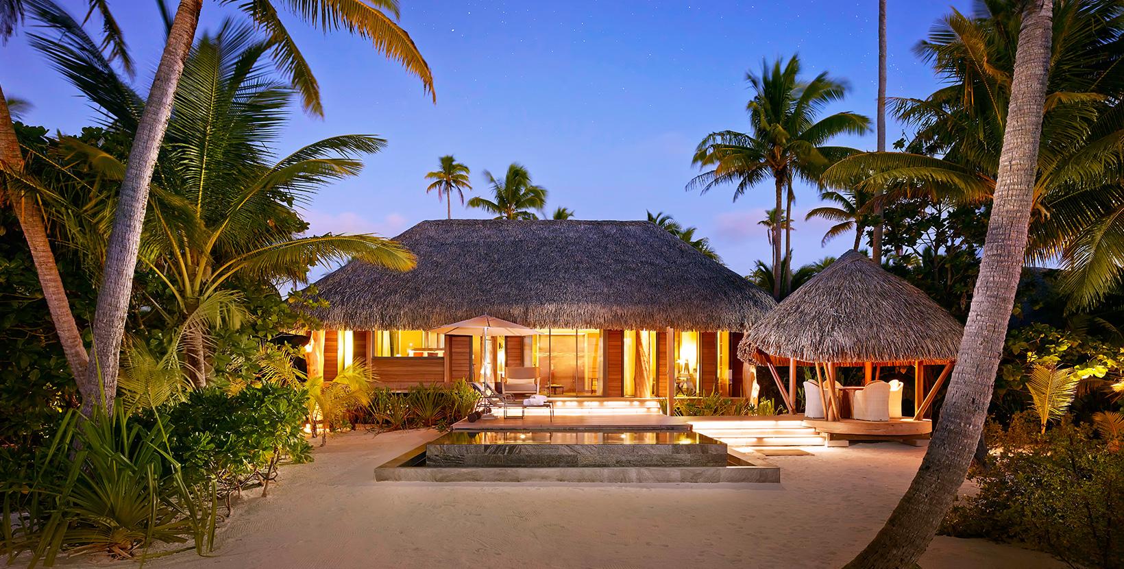 Barack Obama passera un partie de son séjour polynésien à l'Hôtel Le Brando, sur l'atoll de Tetiaroa ©The Brando