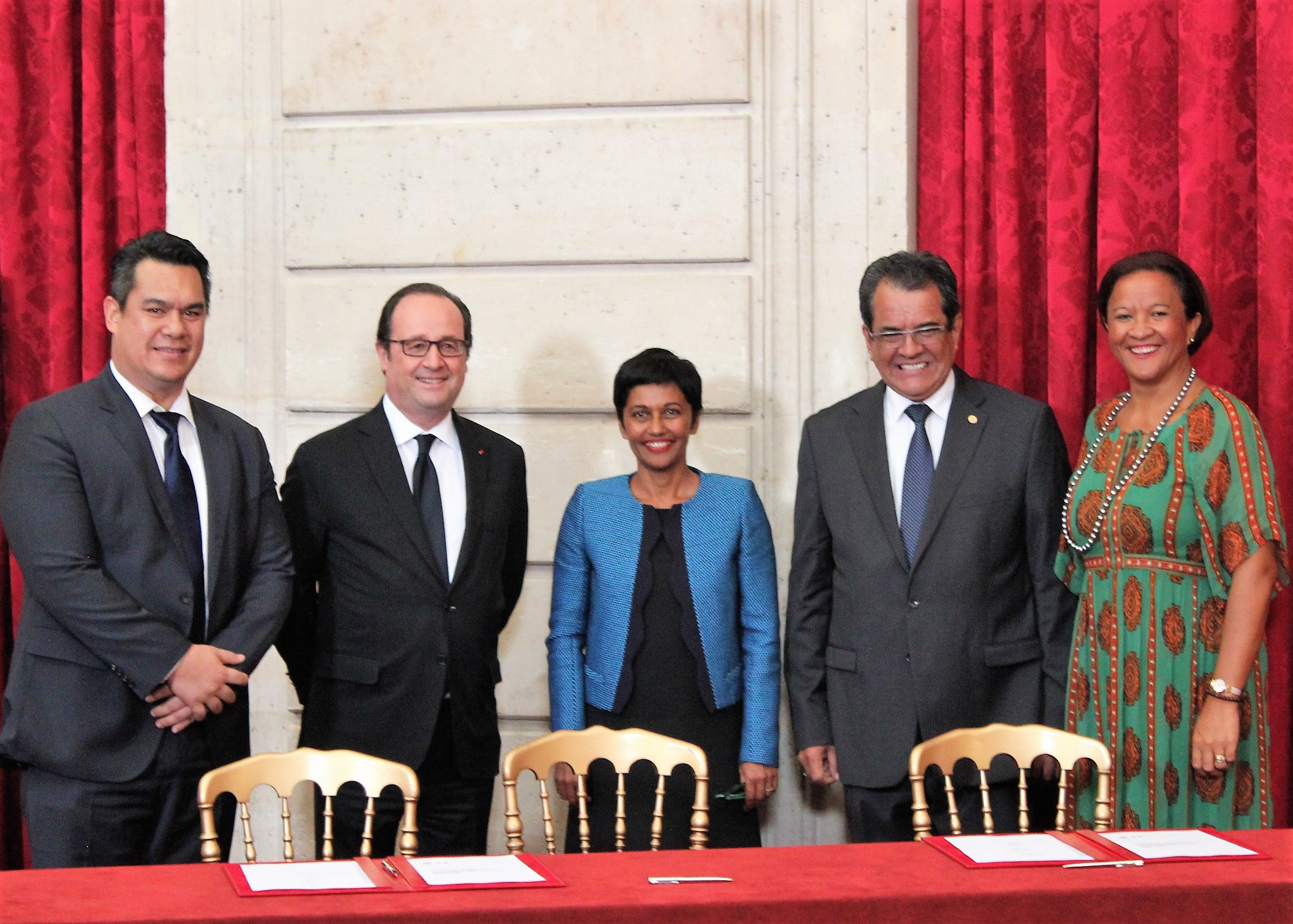 Accord pour le Développement de la Polynésie française: «L'avenir de notre Collectivité au sein de la République française»