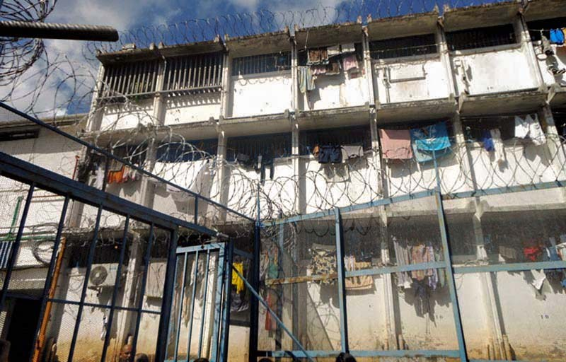 Vétuste, insalubre et surpeuplée, la prison de Nuutania ne sera plus qu'un mauvais souvenir ©Jérémy Dubois / Radio 1 Tahiti
