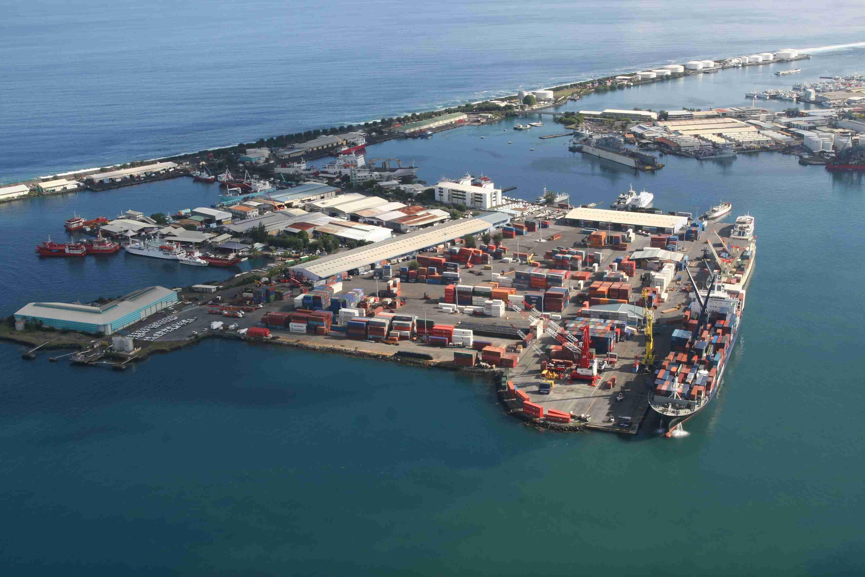 Le Port autonome de Papeete ©DR