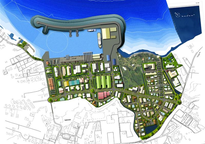 Projet de zone biomarine à Faratea ©TNAD