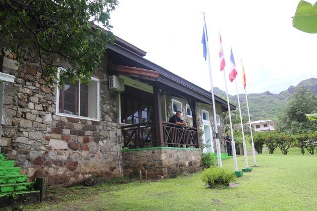 La prison en pierre des îles Marquises, dans le village de Taiohae, sur l'île de Nuku Hiva. Il s'agit de la plus petite prison de la République ©Tahiti-infos