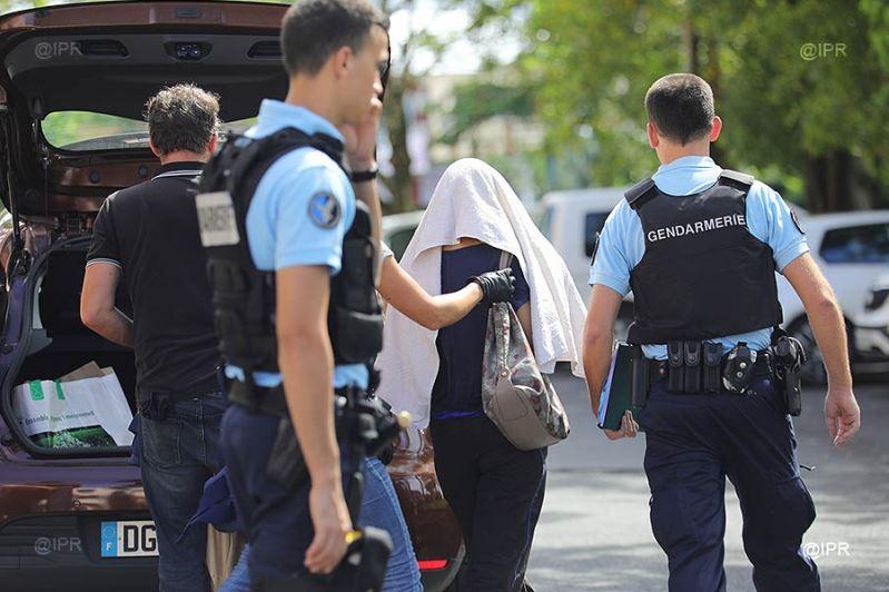 La mère du suspect a également été placée en garde à vue ©Imaz Press Réunion