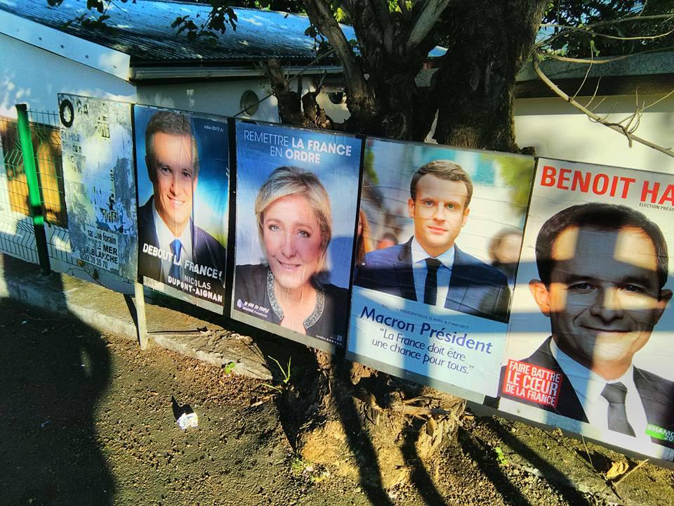 Des panneaux d'affichage pour l'élection présidentielle 2017©Front National 974