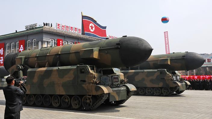 La récente escalade militaire entre les Etats-Unis et la Corée du Nord réveille les craintes dans la région Asie-Pacifique ©How Hwee Young / EPA