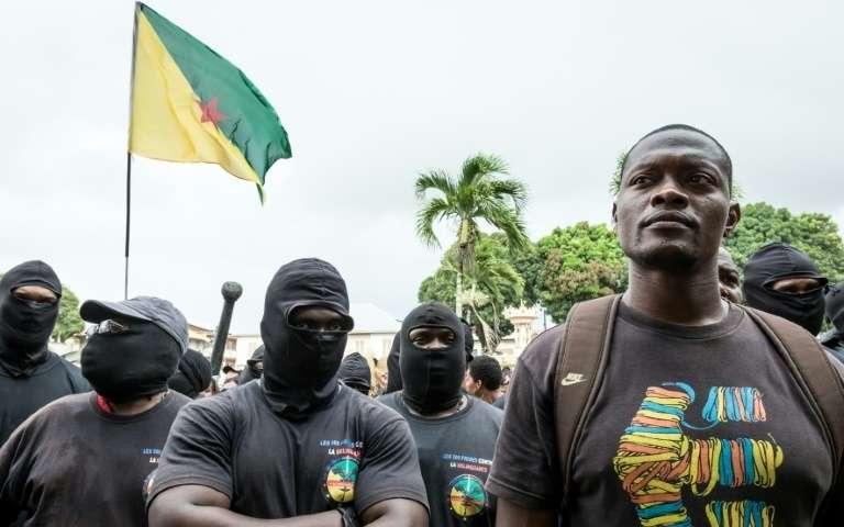 """Mickaël Mancé, un des leader du collectif """"500 frères"""" ©Jody Amiet / AFP"""