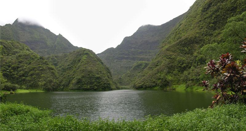 Le Lac Vaihiria, au cœur de l'île de Tahiti ©Tahiti Heritage