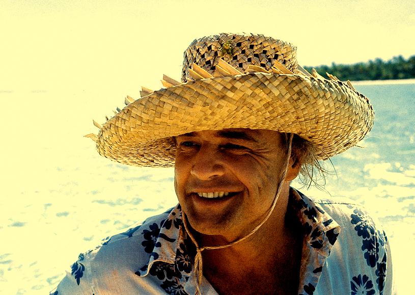 Marlon Brando avait acquis l'atoll de Tetiaroa dans les années 60 où se trouve aujourd'hui l'Hôtel The Brando, très fréquenté par les célébrités ©DR