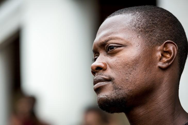 """Mickaël Mancée, leader charismatique des """"500 frères contre la délinquance"""" a annoncé son départ du mouvement ©Jody Amiet / AFP"""