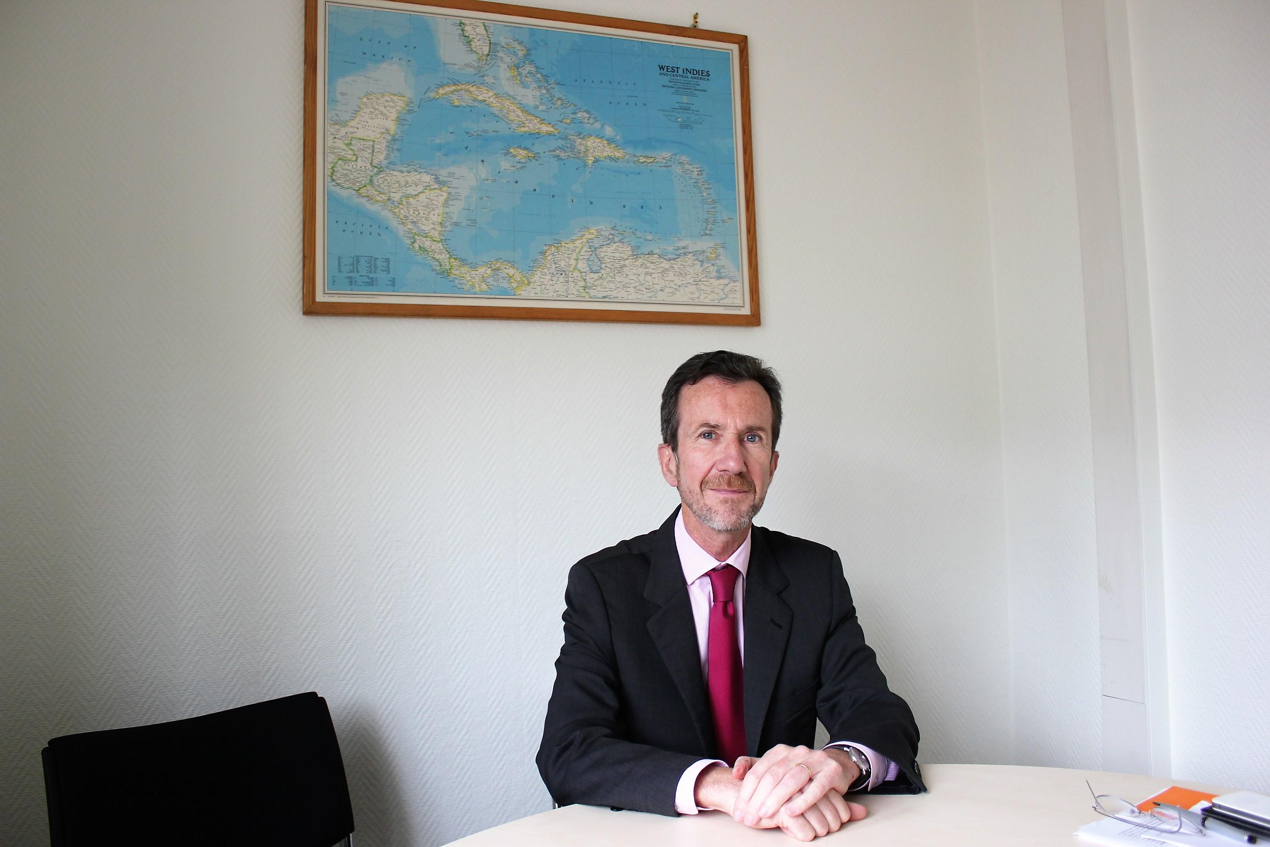 Antoine Grassin, Ambassadeur et Chargé de mission auprès de la Directrice des Amériques au Quai d'Orsay ©Outremers360