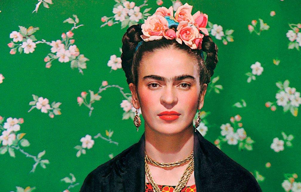 """Affiche de l'exposition """"Frida Kahlo, esquisse de a vie"""" qui aura lieu à Lyon le 23 mai"""