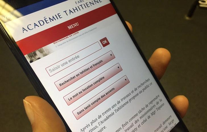 Polynésie française: Une nouvelle version web du dictionnaire tahitien