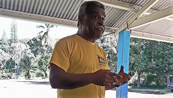 Louis Mapou, candidat UNI-Palika dans la 2èe circonscription ©DR