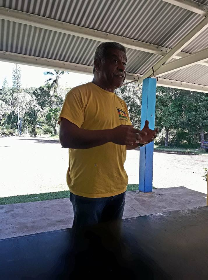 Pour le 2nd tour, Louis Mapou redouble d'effort pour mobiliser l'électorat indépendantiste ©Facebook / DR