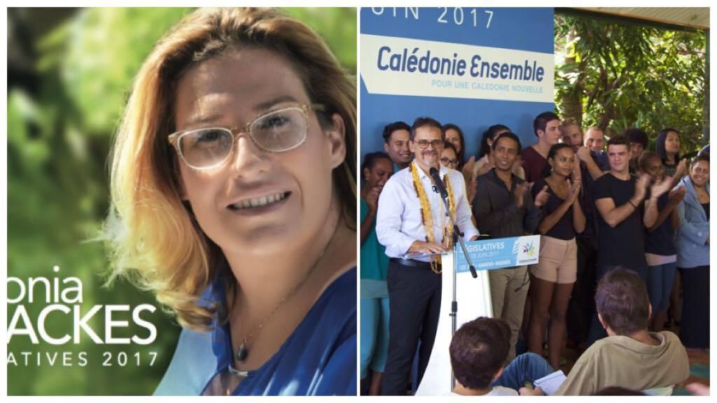 Sonia Backès et Philippe Dunoyer, candidats finalistes dans la 1ère circonscription ©DR
