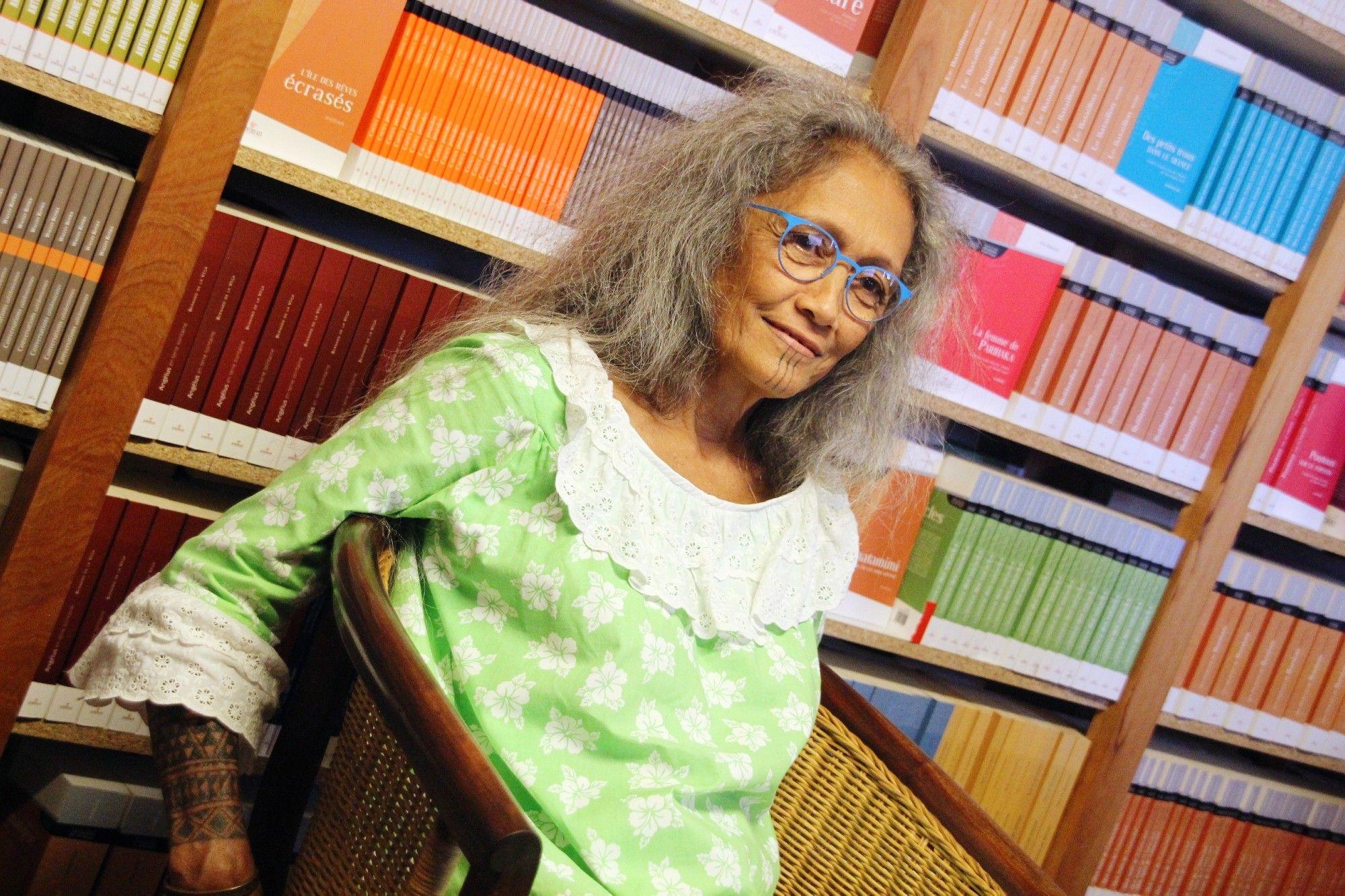 Chantal Spitz, auteure référence en Polynésie française ©La Dépêche de Tahiti