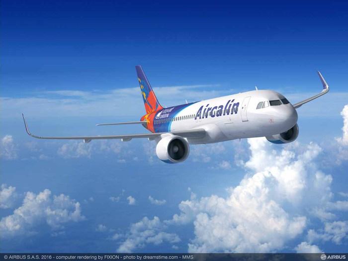 Air Calin: Le gouvernement calédonien se porte garant pour les nouveaux appareils de la compagnie