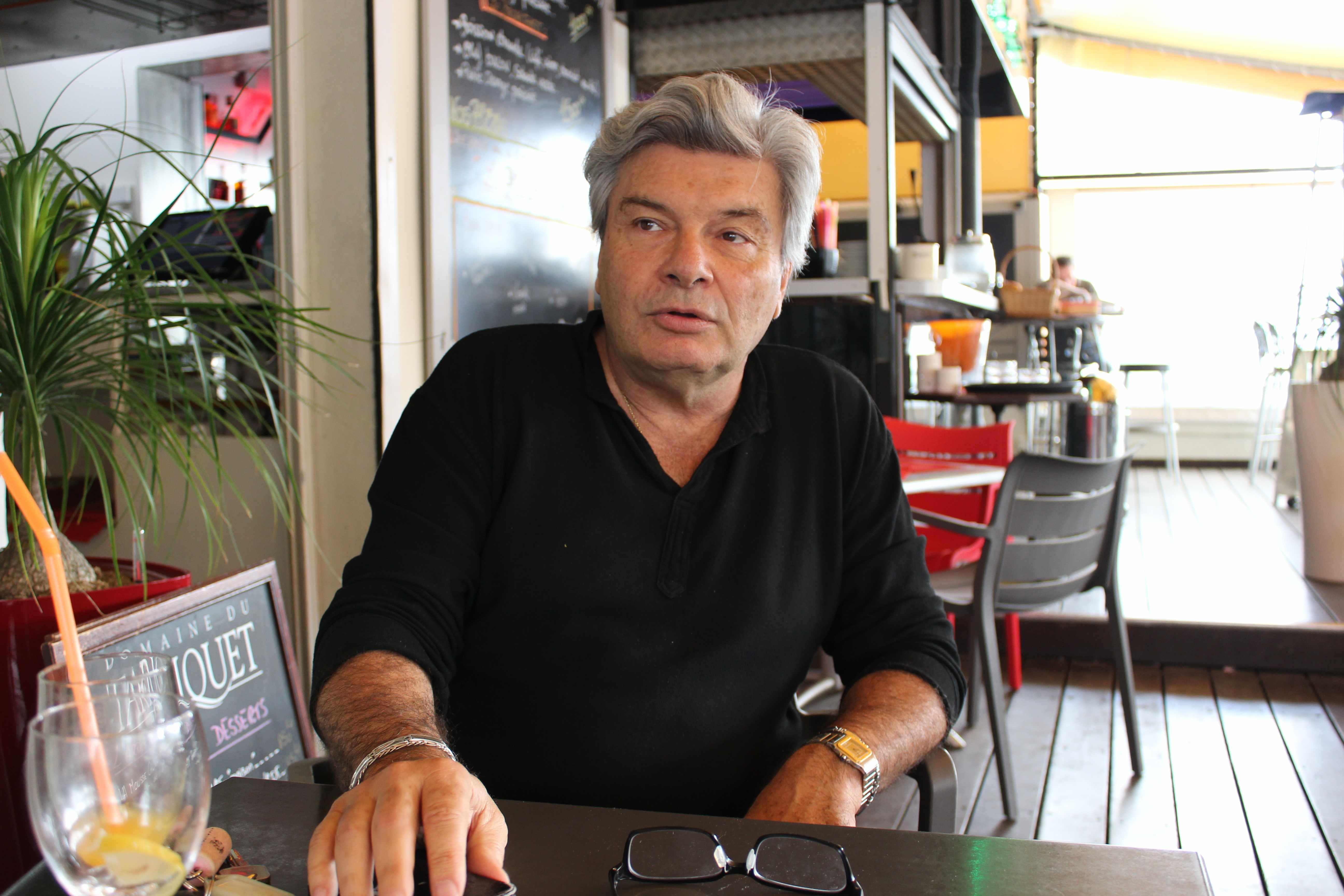 Alain Descombels, candidat sans étiquette dans la première circonscription calédonienne ©La Tribune NC