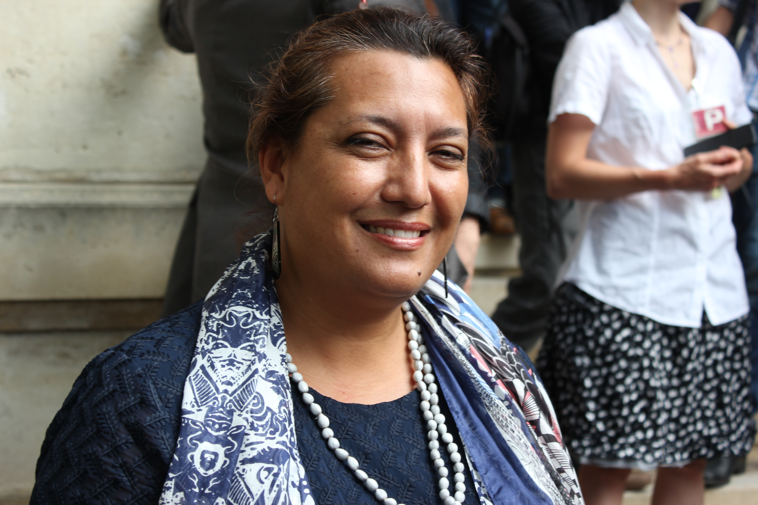 Maina Sage, députée de la Polynésie française ©Outremers360