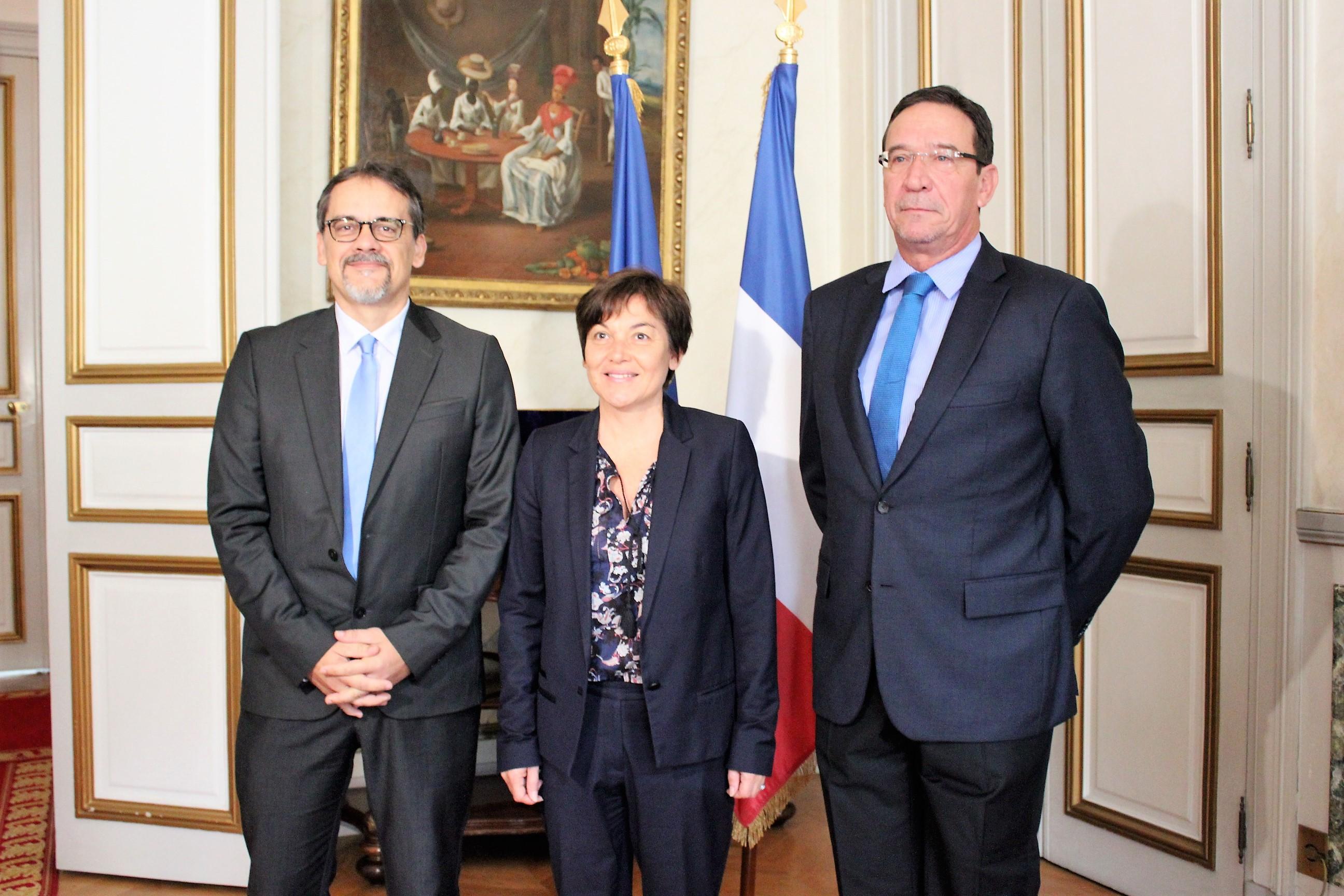 Le députés calédoniens indiquent «les éléments de repères» à la ministre des Outre-mer
