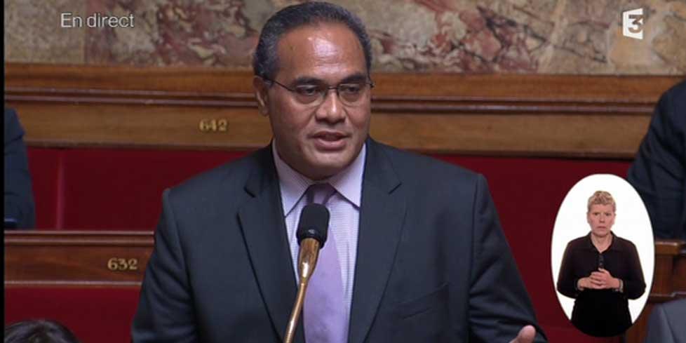 Napolé Polutelé a été réélu ce dimanche Député de Wallis-et-Futuna