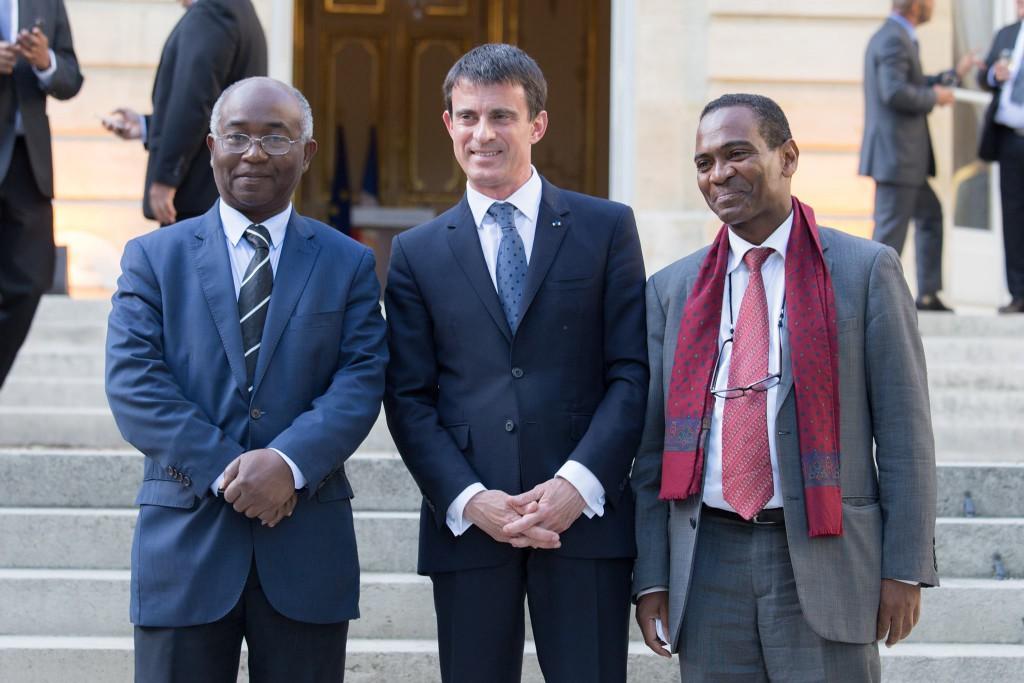Boinali Said (à gauche) et Ibrahim Aboubacar (à droite), les deux députés sortants © Facebook Boinali Said