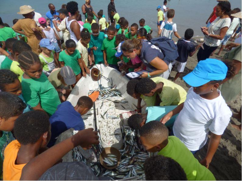 Les élèves de l'école Herman Michel au Carbet, en Martinique ©Ville du Carbet