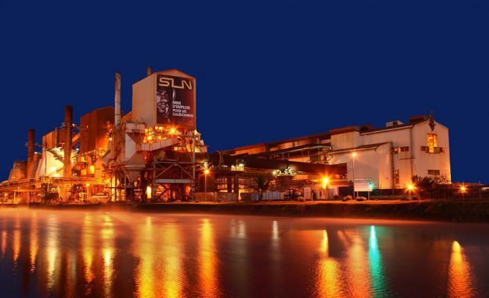 L'usine métallurgique de la SLN à Doniambo ©SLN