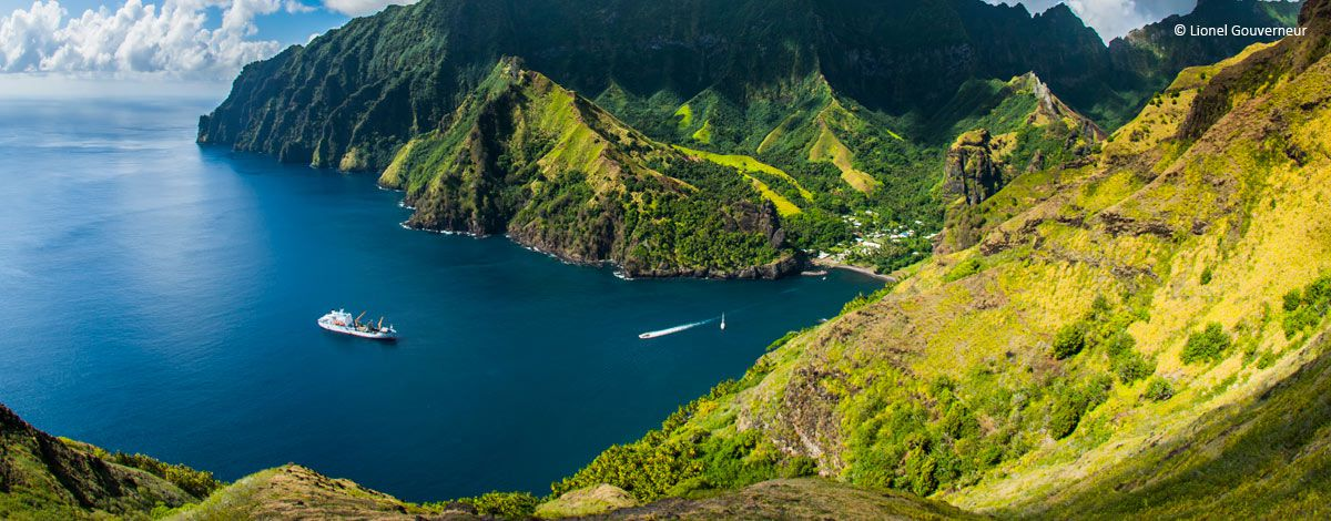 En Polynésie française, les îles Marquises préparent également leur candidature au Patrimoine mondial ©