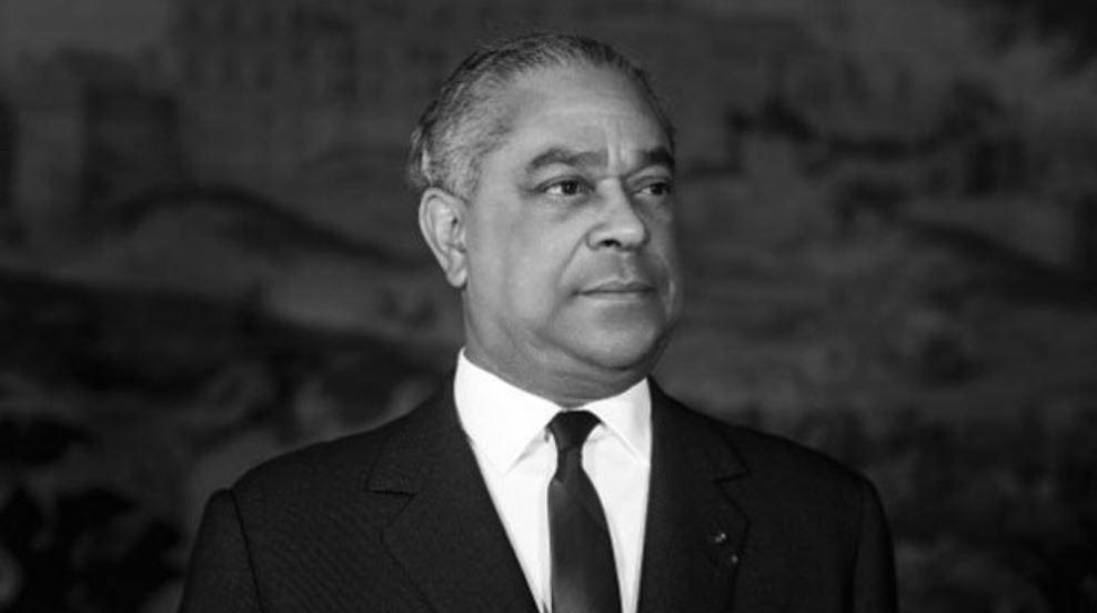 Gaston Monnerville, homme politique guyanais, fut Président du Conseil de la République et Président du Sénat ©AFP