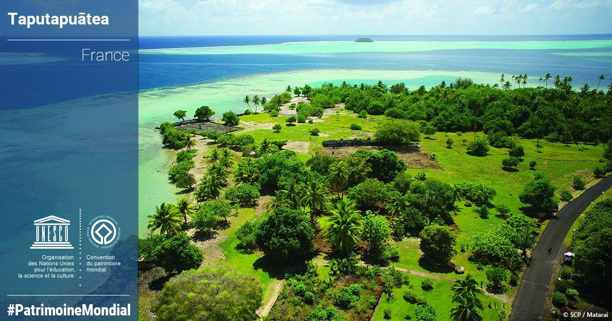 Le Paysage culturel Taputapuatea a été inscrit à l'UNESCO le 9 juillet dernier ©Matarai / UNESCO