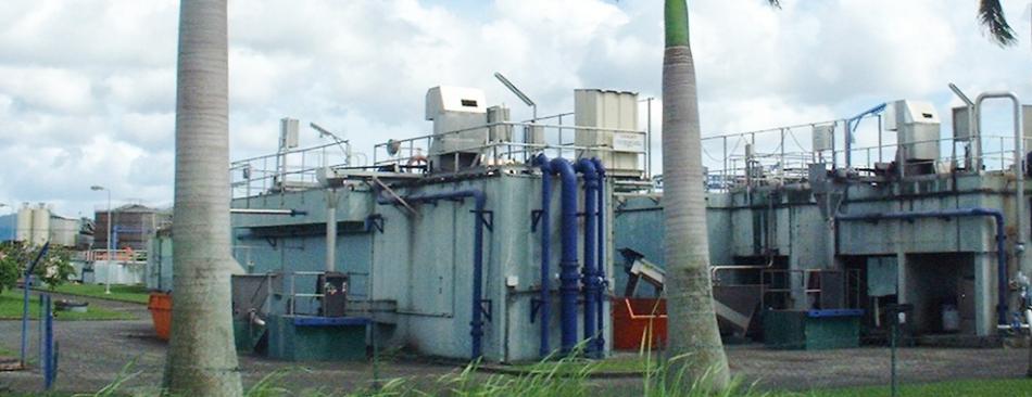 Actuellement, une seule station d'épuration de matières à Dillon qui est aujourd'hui arrivée à saturation et très éloignée des communes du Nord ©DR