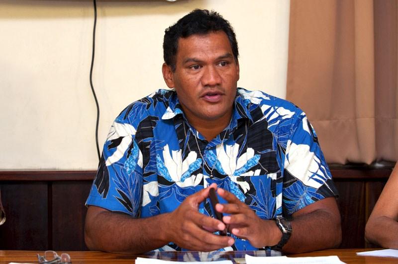 Tauhiti Nena, président du COPF ©Cédric Valax / Radio 1 Tahiti