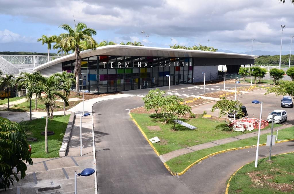 Le terminal régional de l'Aéroport de Guadeloupe © Aéroport de Guadeloupe