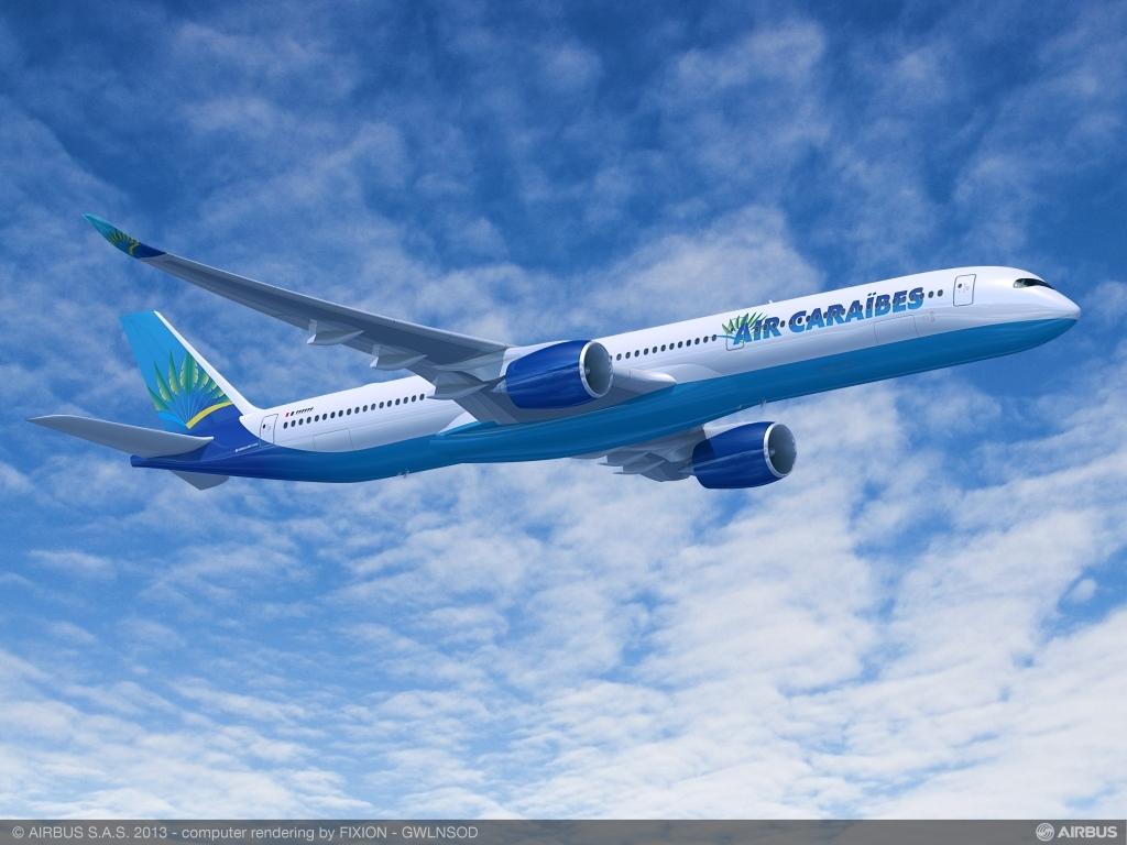 Air Caraïbes a reçu ses deux Airbus A350 ©Airbus