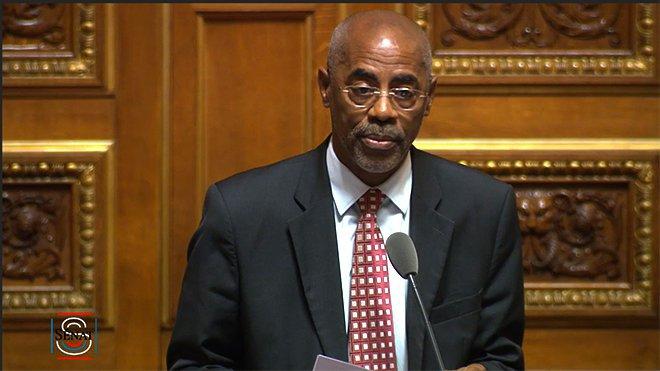 Maurice Antiste est le seul sénateur sortant en Martinique© Sénat
