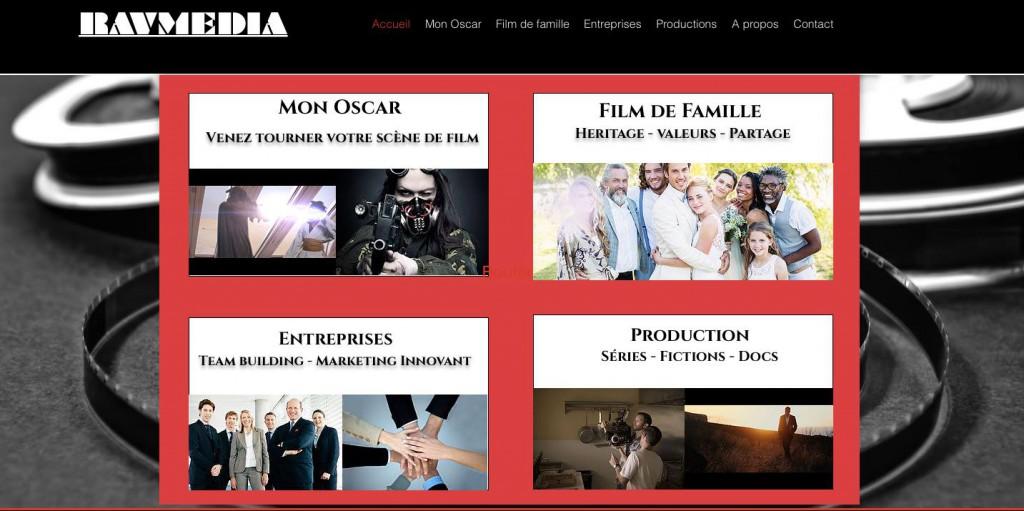 Ravmedia, la nouvelle société de production créé par Youshaa Ravate © Facebook Youshaa Ravate