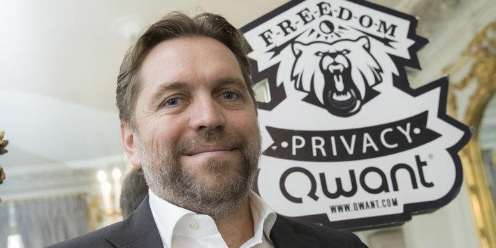 Eric Léandri, fondateur de Qwant ©SIPA