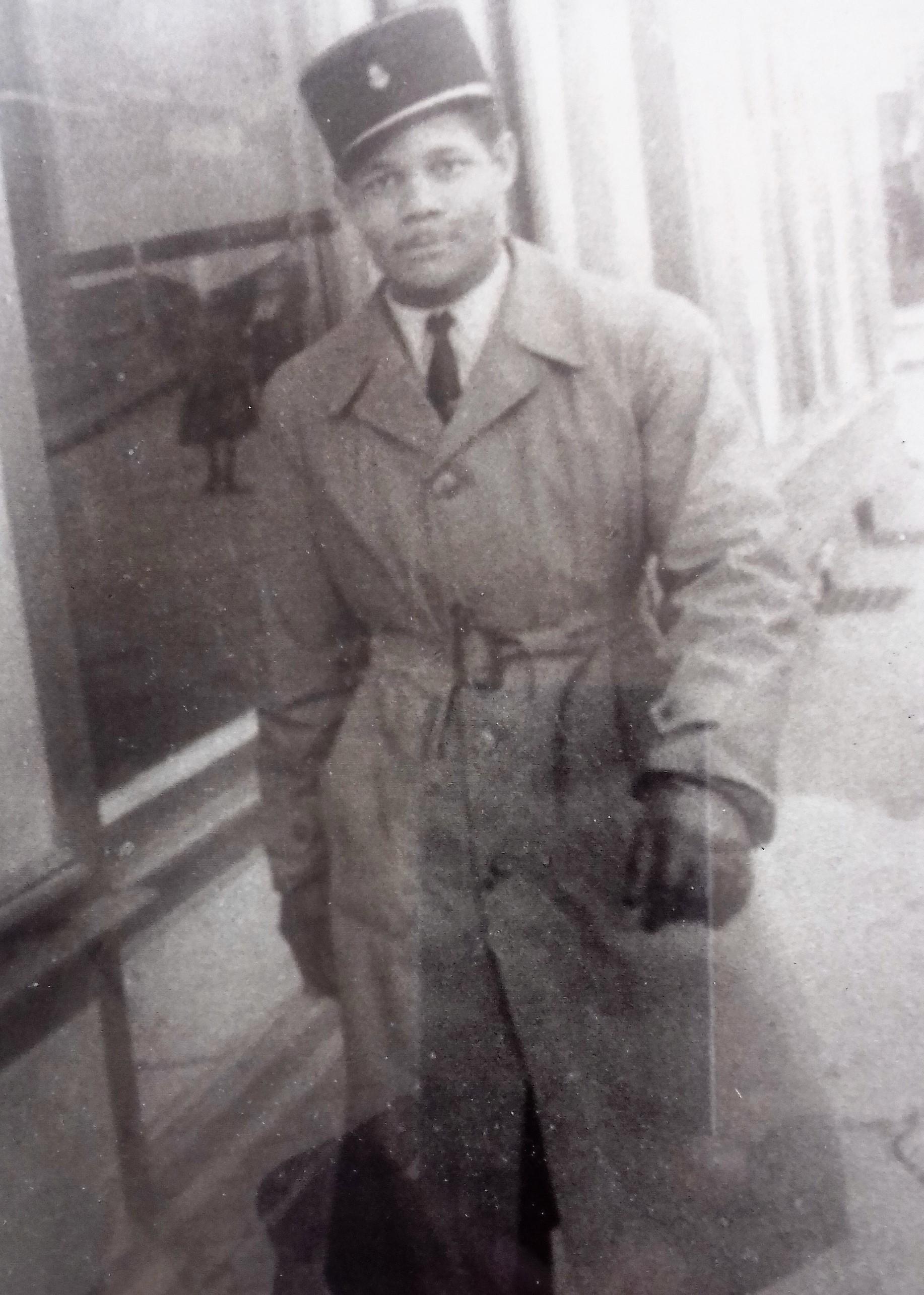 Félix Perina, alors âgé de 26 ans, à Castres ©DR