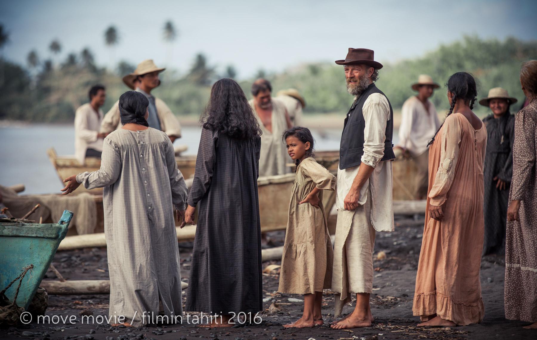 """Le film """"Gauguin - Voyage de Tahiti"""" a été tourné à 90% en Polynésie ©Move Movie / Filmin'Tahiti"""