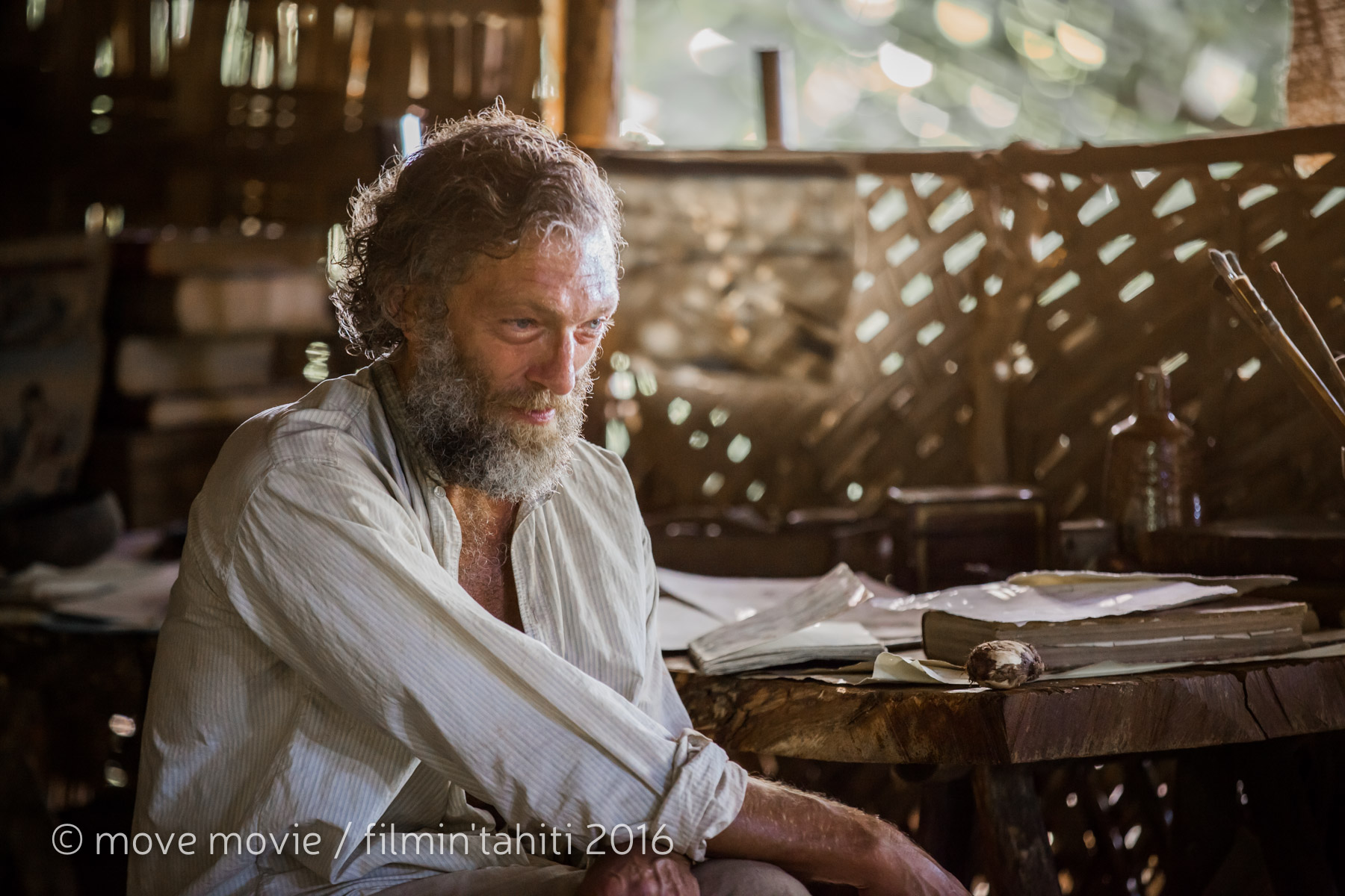 "Vincent Cassel campe le personnage du ""peintre maudit"" Paul Gauguin, dit ""Koke"" ©Move Movie / Filmin'Tahiti"