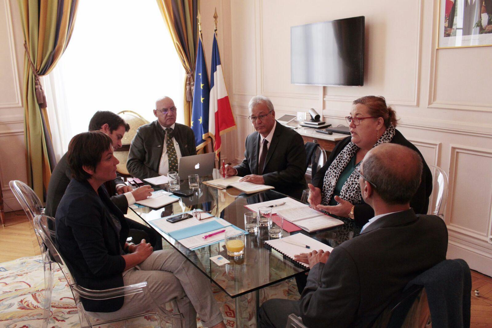 L'ACCD'OM et la Ministre des Outre-mer font le point sur les grands sujets des collectivités ultramarines