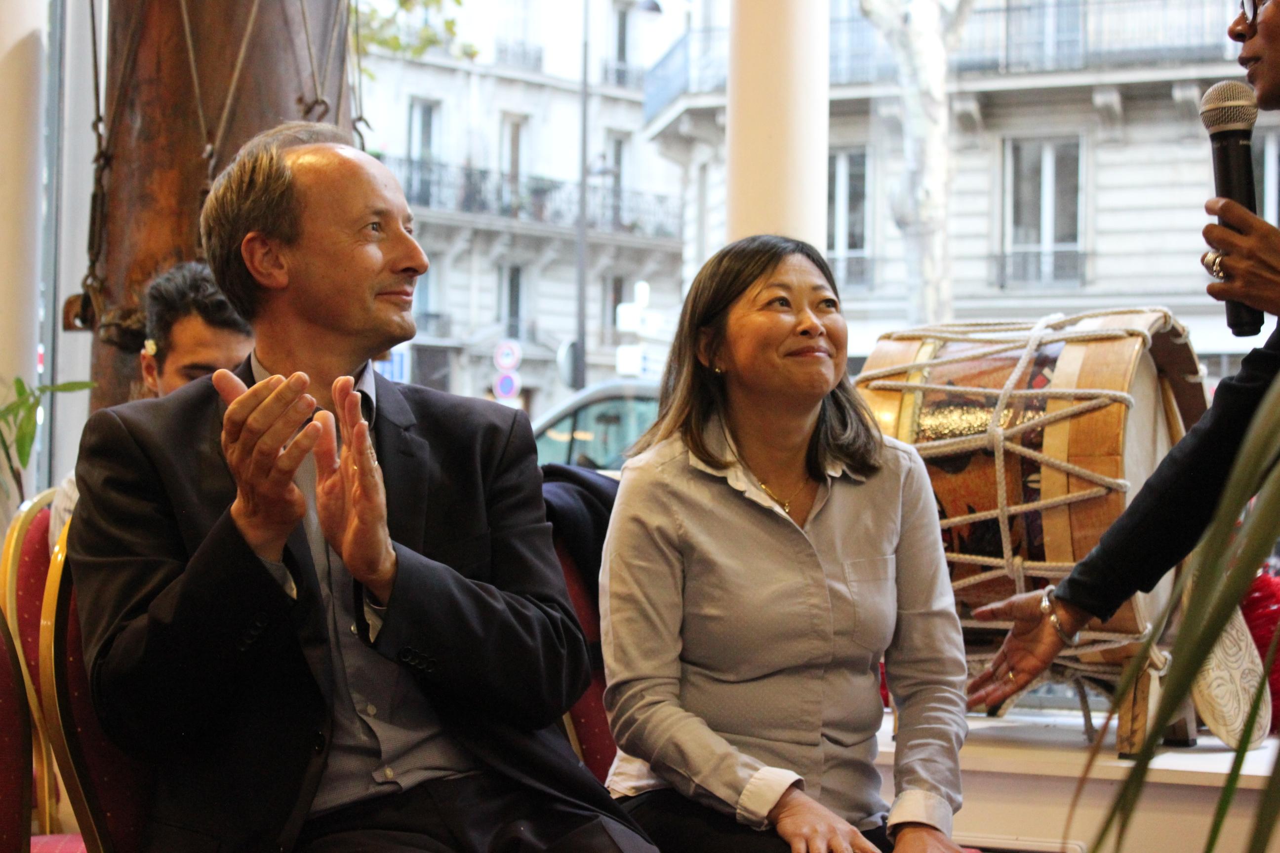 Caroline Tang, Déléguée de la Polynésie française à Paris a annoncé son intention de renouveler le concours l'année prochaine ©Outremers360