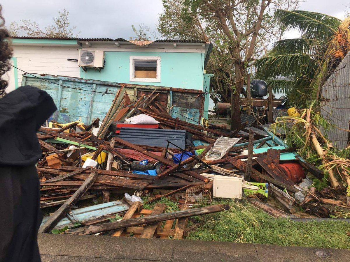 Ouragan Maria: Les dispositions de l'état de catastrophe naturelle suscitent la colère des élus guadeloupéens