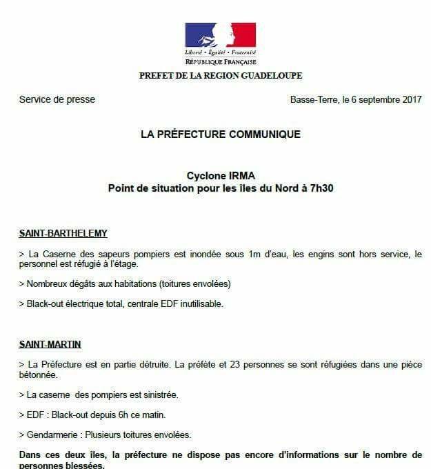 ©Prefecture de la Guadeloupe