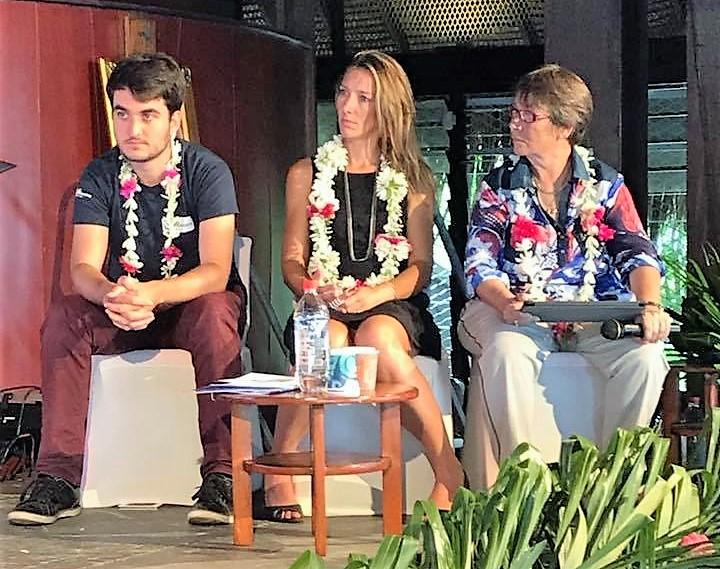 """Table ronde sur les technologies """"smart"""" pour les îles ©Polynésienne des Eaux"""