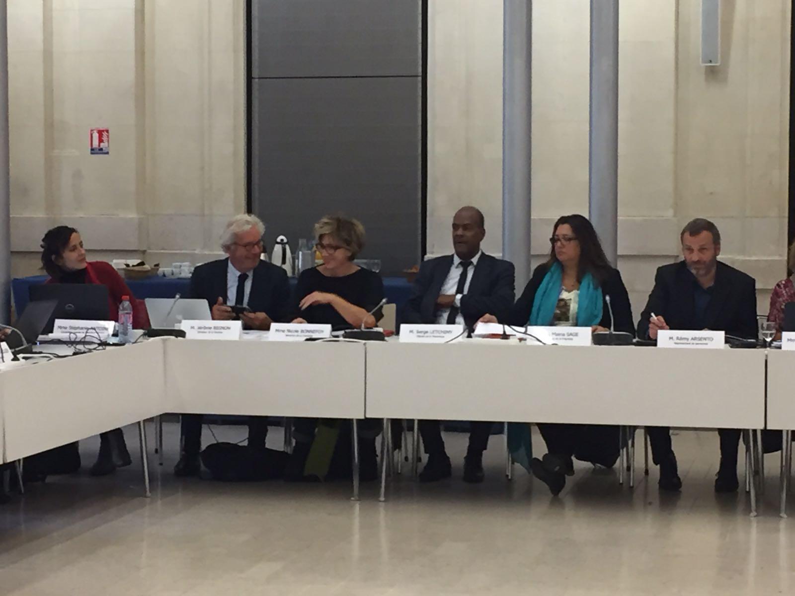 Maina Sage et Serge Letchimy ont été reconduit au Conseil d'administration de l'AFB ©DR / Maina Sage