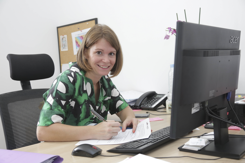 Aurélie Rigal, Responsable du Pôle Urbanisme et Référent au sein de la Direction collégiale ©Région Réunion